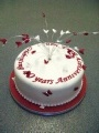Celebration cakes for your Anniversary by Bramley Village Bakery